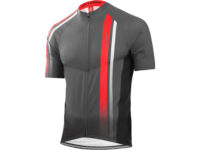 Löffler hotBOND Full-Zip Bike Jersey Men anthracite